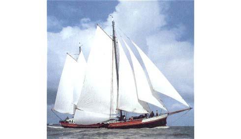 Segeln auf IJsselmeer oder Wattenmeer mit der Klipper Averechts ab Harlingen