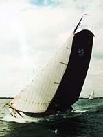 Segeln auf IJsselmeer oder Wattenmeer mit der Skutsje Alve Steden ab Grou