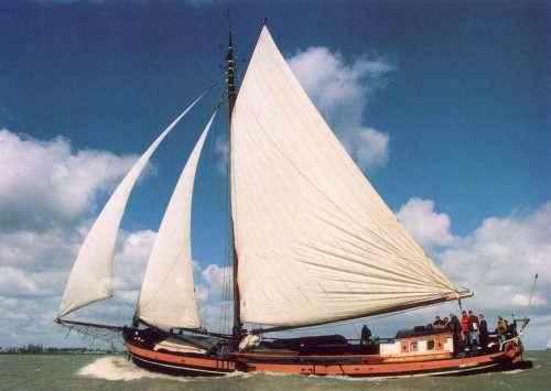 Segeln auf IJsselmeer oder Wattenmeer mit der Klipper Anna ab Muiden