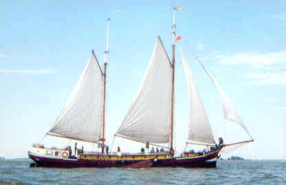 Segeln auf IJsselmeer oder Wattenmeer mit der Zweimastklipper Nijverheid ab Stavoren