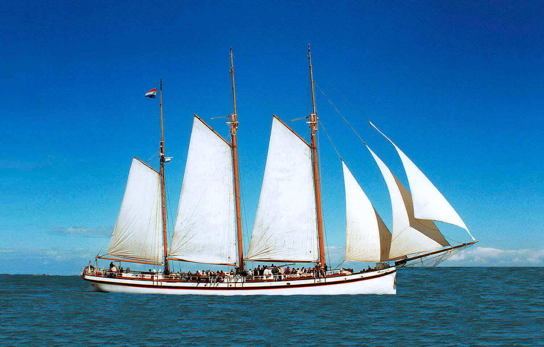 Segeln auf IJsselmeer oder Wattenmeer mit der Klipper Sanne Sophia ab Muiden