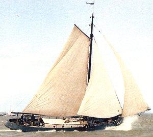 zeilen op IJsselmeer of Waddenzee met de wieringeraak Oost-Vlieland vanuit Harlingen