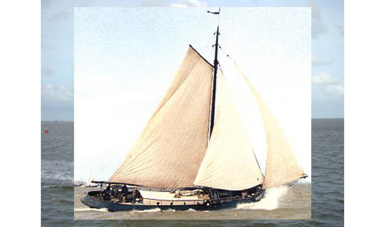 Segeln auf IJsselmeer oder Wattenmeer mit der Wieringeraak Oost-Vlieland ab Harlingen