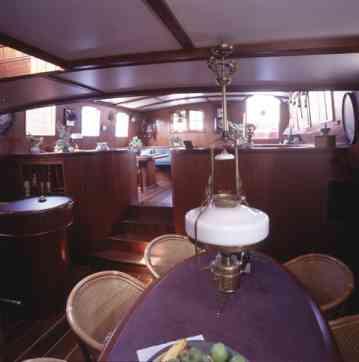 schip huren op IJsselmeer of Waddenzee : de klipperaak Hollandsch Diep vanuit Willemstad