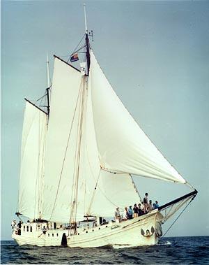 Segeln auf IJsselmeer oder Wattenmeer mit der Klipper Atalanta ab Enkhuizen