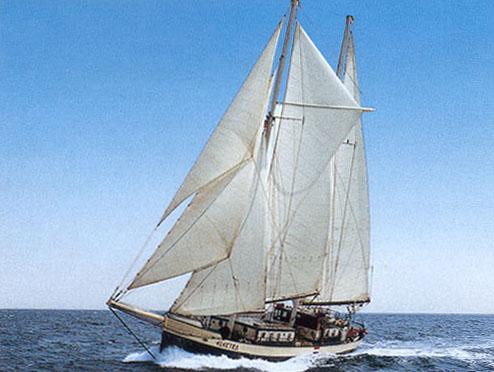 zeilen op IJsselmeer of Waddenzee met de tweemastschoener Oban vanuit Kiel