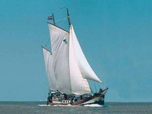 Segeln auf IJsselmeer oder Wattenmeer mit der Klipper Boekanier ab Makkum