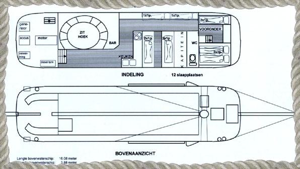 schip huren op IJsselmeer of Waddenzee : de tjalk Vrouwe Gerdina vanuit Monnickendam