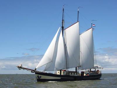 Segeln auf IJsselmeer oder Wattenmeer mit der Dreimastklipper Noorderlicht ab Harlingen