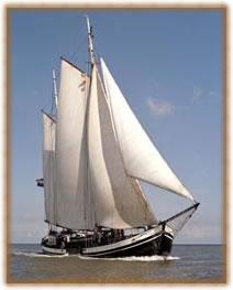 Segeln auf IJsselmeer oder Wattenmeer mit der Stevenaak Minerva ab Harlingen