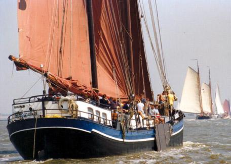 Segeln auf IJsselmeer oder Wattenmeer mit der Zweimastklipper Noordvaarder ab Harlingen
