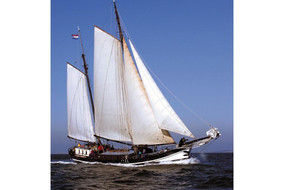 Segeln auf IJsselmeer oder Wattenmeer mit der Klipper Passaat ab Harlingen
