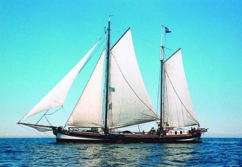 zeilen op IJsselmeer of Waddenzee met de klipper Pegasus vanuit Kiel