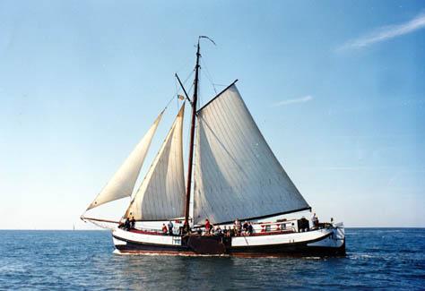 Segeln auf IJsselmeer oder Wattenmeer mit der Seetjalk Spes Mea ab Harlingen