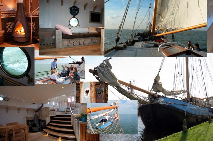 Segeln auf IJsselmeer oder Wattenmeer mit der Tjalk Selene ab Monnickendam