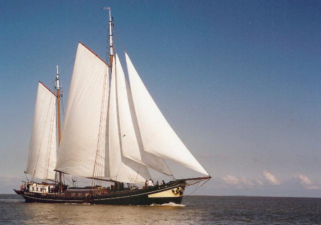 Segeln auf IJsselmeer oder Wattenmeer mit der Zweimastklipper Iselmar ab Harlingen