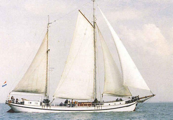 Segeln auf IJsselmeer oder Wattenmeer mit der Dreimastschoner Grietje ab Hoorn