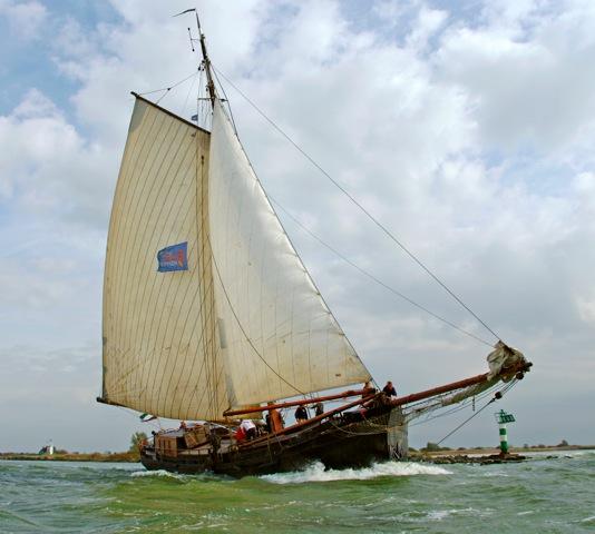 zeilen op IJsselmeer of Waddenzee met de klipper Willem Jacob vanuit Zoutkamp