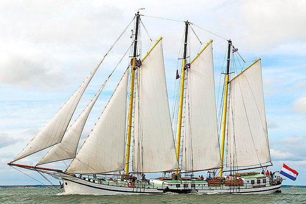 Segeln auf IJsselmeer oder Wattenmeer mit der Dreimastklipper Grote Beer ab Harlingen