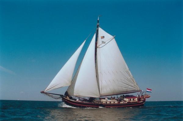 zeilen op IJsselmeer of Waddenzee met de eenmastklipper Amore Vici vanuit Enkhuizen