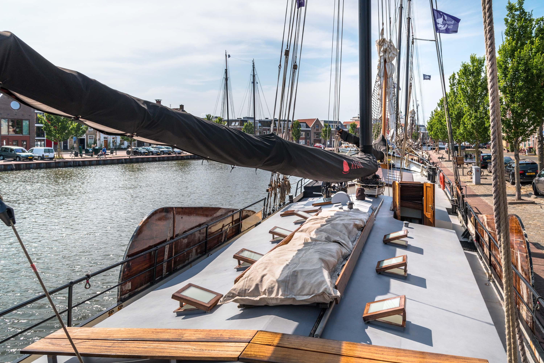 zeilen op IJsselmeer of Waddenzee met de tweemastklipper Aegir vanuit Harlingen