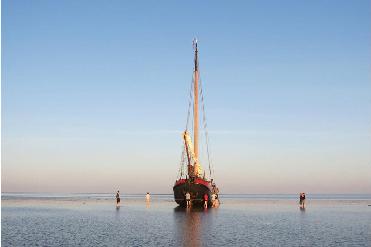 zeilen op IJsselmeer of Waddenzee met de tjalk Boreas vanuit Harlingen