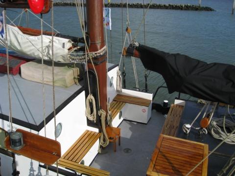 zeilen op IJsselmeer of Waddenzee met de tweemasttjalk Aagtje vanuit Harlingen