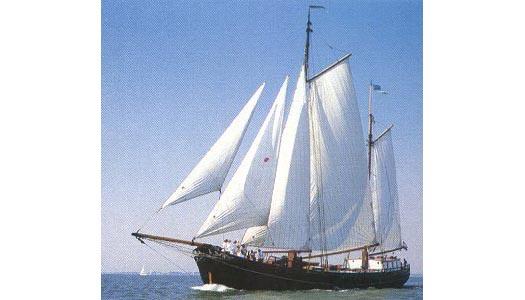 zeilen op IJsselmeer of Waddenzee met de klipper Aldebaran vanuit Harlingen