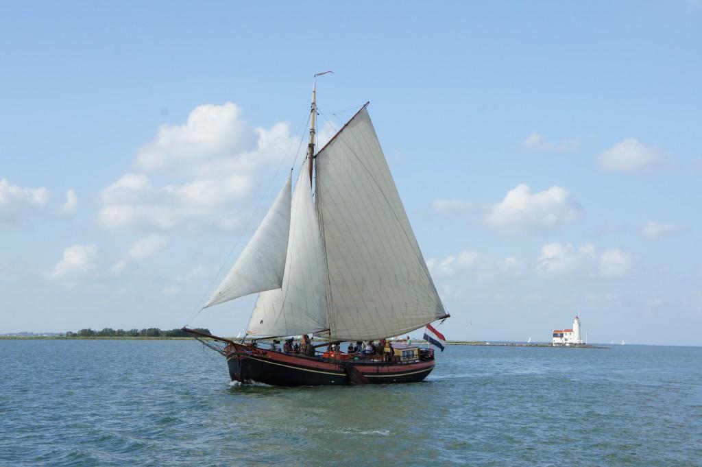 zeilen op IJsselmeer of Waddenzee met de klipper Anna vanuit Muiden