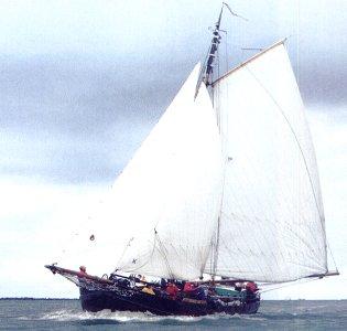 Segeln auf IJsselmeer oder Wattenmeer mit der Klipper Antonius ab Muiden