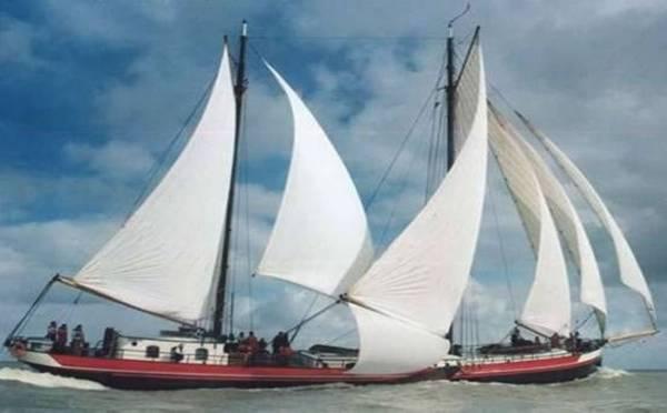 zeilen op IJsselmeer of Waddenzee met de klipper Averechts vanuit Harlingen