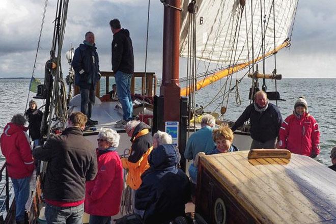 zeilen op IJsselmeer of Waddenzee met de klipper Boekanier vanuit Makkum