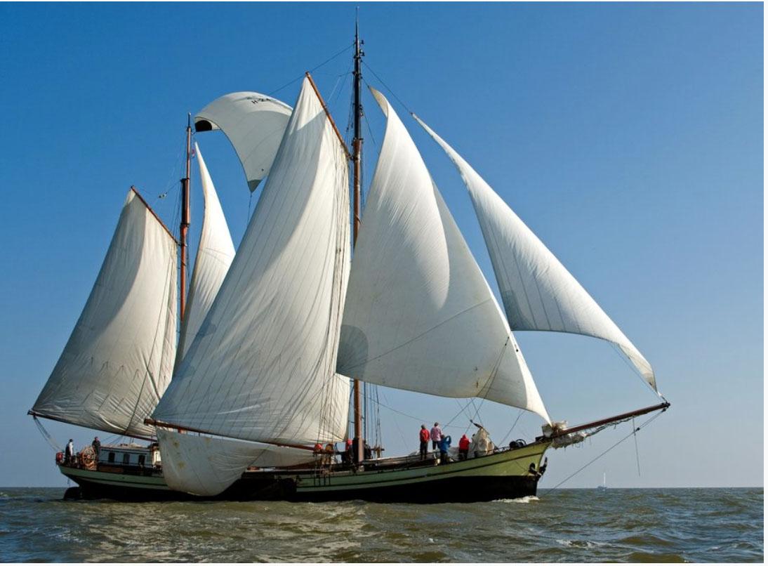 Segeln auf IJsselmeer oder Wattenmeer mit der Klipper Bree Sant ab Enkhuizen