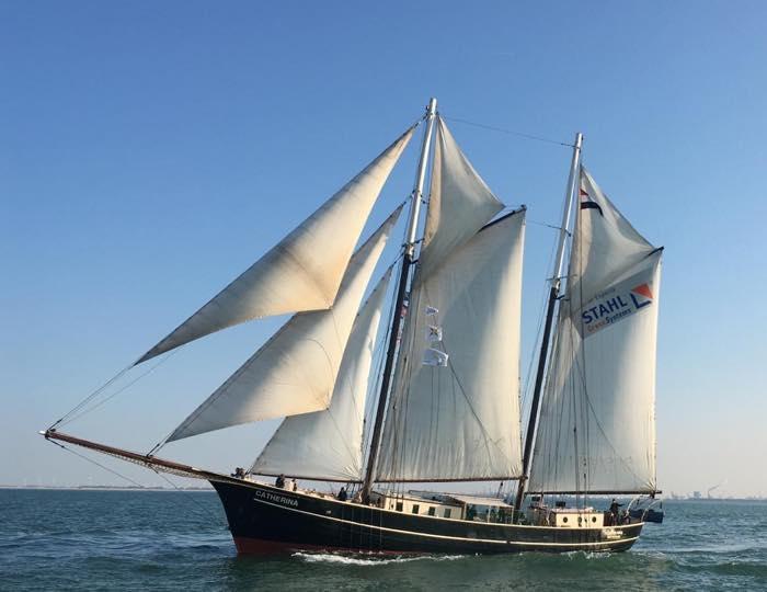 Segeln auf IJsselmeer oder Wattenmeer mit der Schoner Catherina ab Kiel
