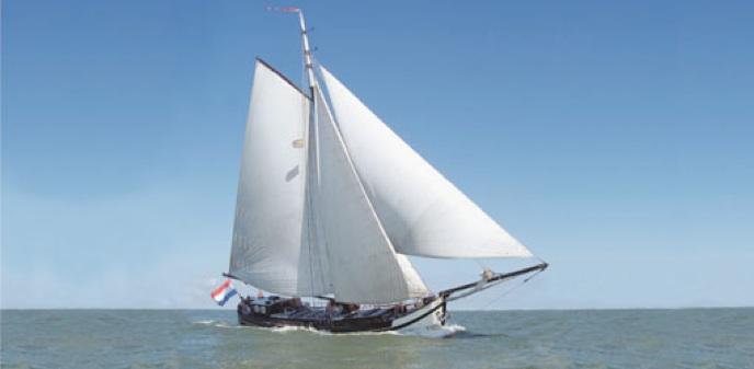 Segeln auf IJsselmeer oder Wattenmeer mit der Stevenaak Egberdina ab Hoorn