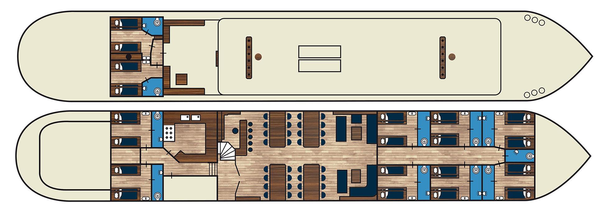 Schiff mieten auf IJsselmeer oder Wattenmeer : die Zeeuwse Klipper Elizabeth ab Lemmer