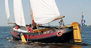 Segeln auf IJsselmeer oder Wattenmeer mit der Lemsteraak Feroaring ab Grou