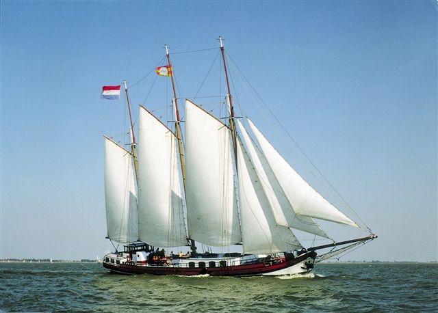 zeilen op IJsselmeer of Waddenzee met de driemastklipper Frisius van Adel vanuit Stavoren