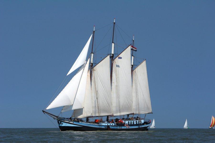 Segeln auf IJsselmeer oder Wattenmeer mit der Dreimastklipper Grootvorst ab Harlingen