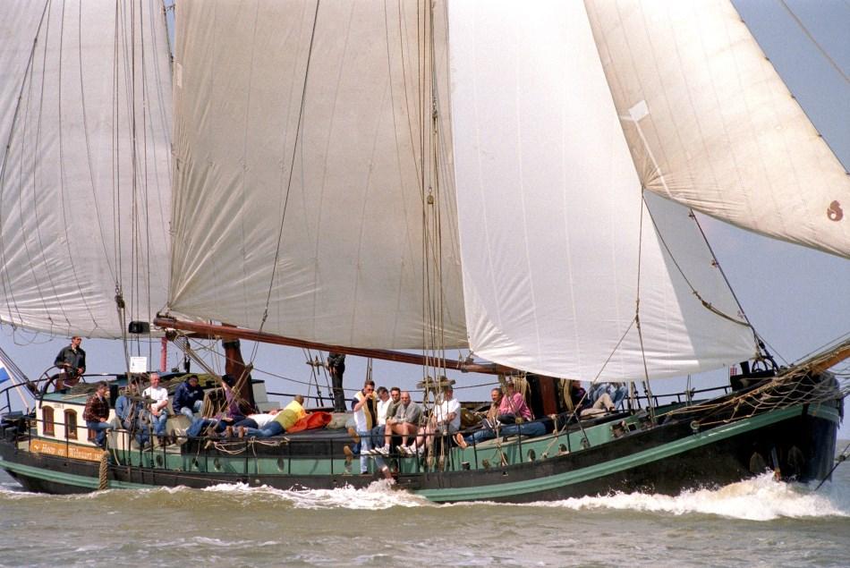 zeilen op IJsselmeer of Waddenzee met de tweemastklipper Hoop op Welvaart vanuit Harlingen
