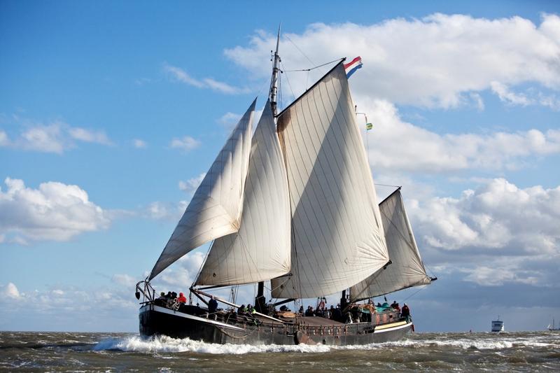Segeln auf IJsselmeer oder Wattenmeer mit der Friesische Maatkast Ideaal ab Harlingen