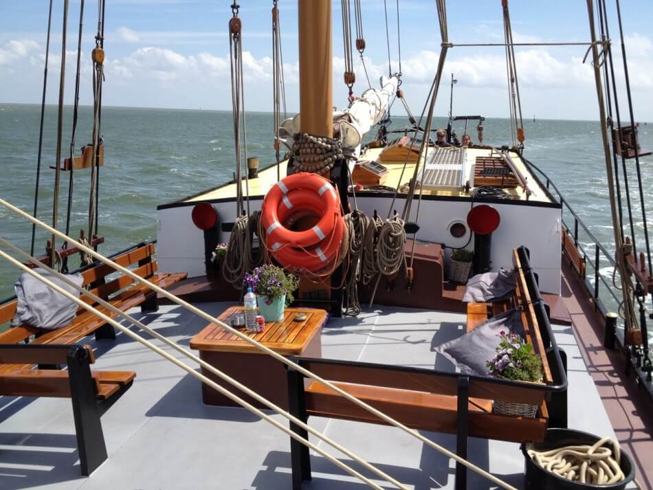 zeilen op IJsselmeer of Waddenzee met de tweemastklipper Iselmar vanuit Harlingen