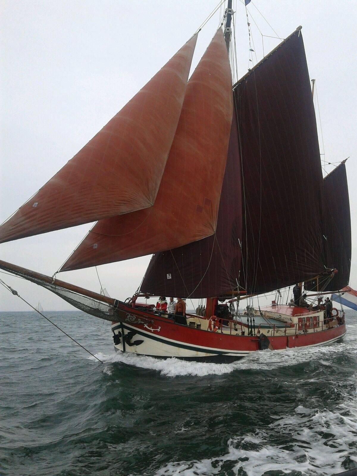 Segeln auf IJsselmeer oder Wattenmeer mit der Klipperaak Linquenda II ab Hellevoetsluis