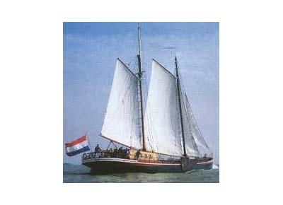 zeilen op IJsselmeer of Waddenzee met de klipper Manna vanuit Harlingen