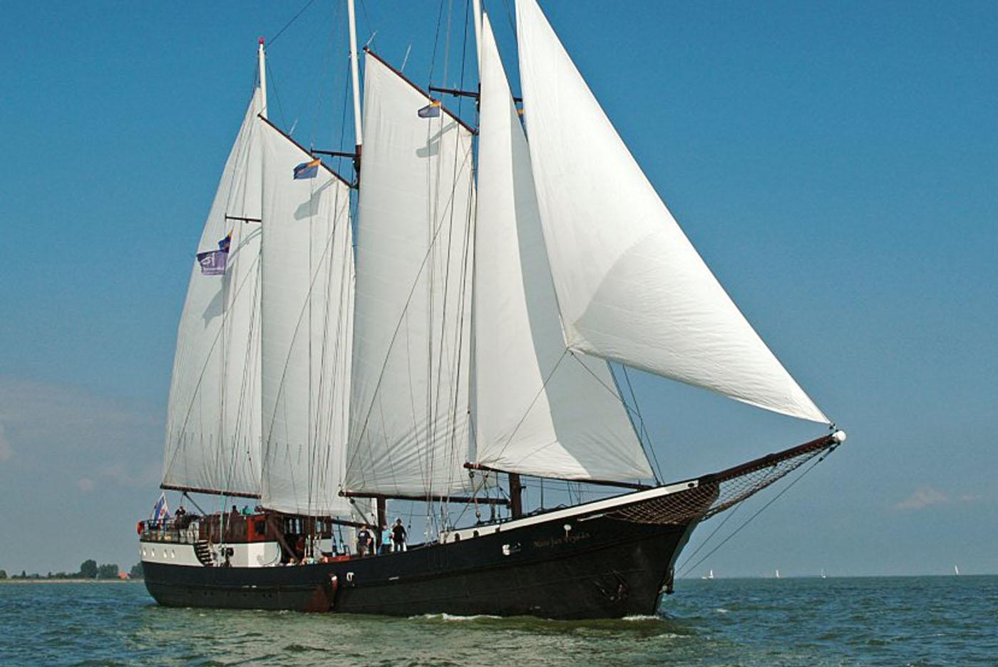Segeln auf IJsselmeer oder Wattenmeer mit der Schoner Mare Fan Fryslan ab Enkhuizen