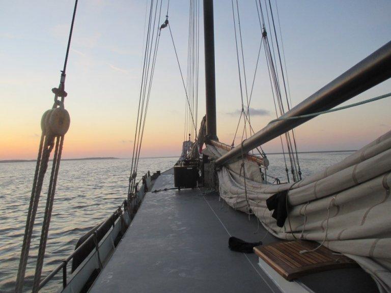 zeilen op IJsselmeer of Waddenzee met de tweemastklipper Margot vanuit Harlingen