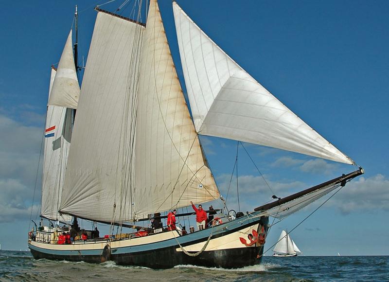 Segeln auf IJsselmeer oder Wattenmeer mit der Zweimastklipper Margot ab Harlingen