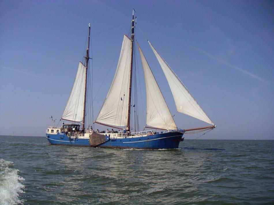 Segeln auf IJsselmeer oder Wattenmeer mit der Zweimastklipper Mermaid ab Harlingen