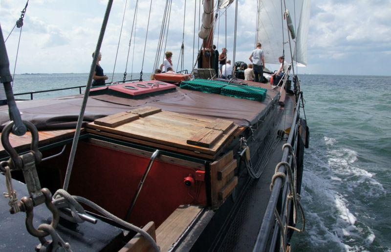 schip huren op IJsselmeer of Waddenzee : de klipper Morgenster vanuit Zierikzee
