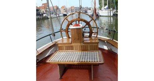 zeilen op IJsselmeer of Waddenzee met de tweemastklipper Mother Goose vanuit Hoorn